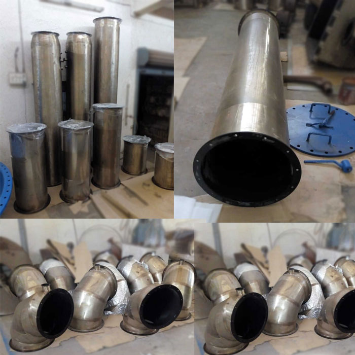 SS Ducts, Fluoropolymer Coated Stainless Steel Ducts Manufacturer