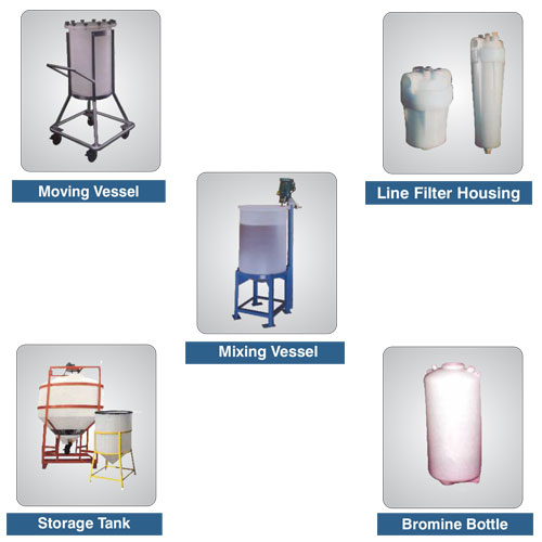 Next Generation Chemical Tanks of PP / PVDF in India