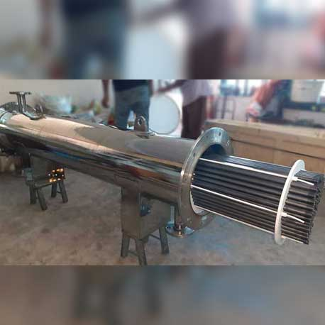SiC Heat Exchanger, Silicon Carbide Shell and Tube Heat Exchanger India